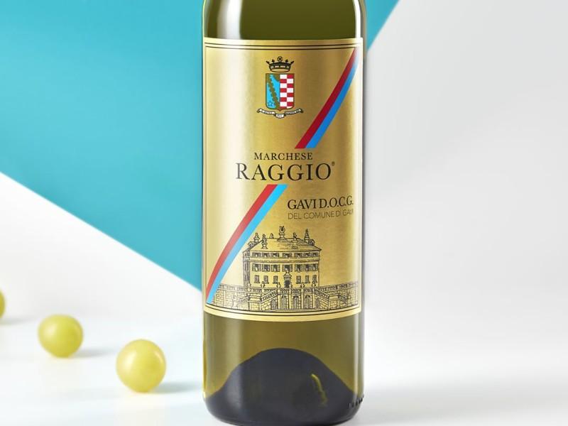 bottiglia vino bianco
