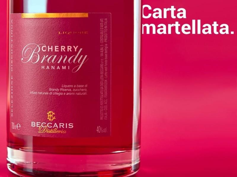 etichetta brandy cherry
